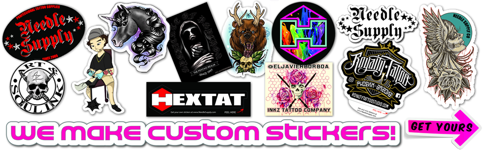 Tattoo Supplies From Needle Supply Company